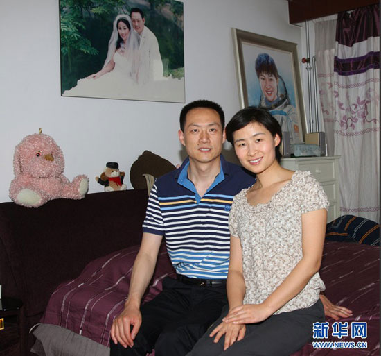 中国首位女宇航员刘洋