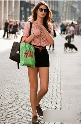 潮人街头混搭 凉爽时尚都不落